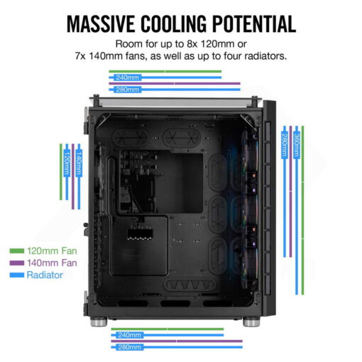 CORSAIR Crystal Series 680X Smart Case 6