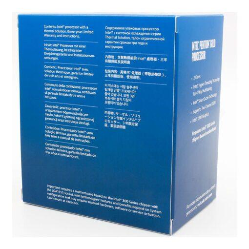 Intel Pentium Gold Processor 5