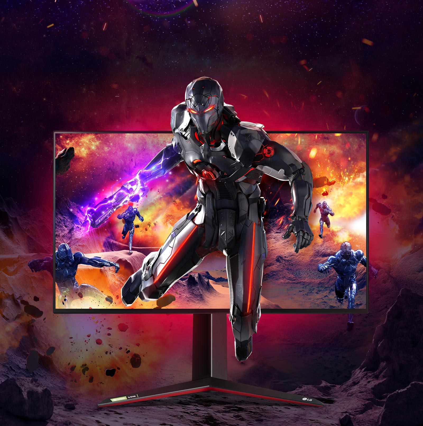LG UltraGear 27GN950 B Gaming Monitor Features 1