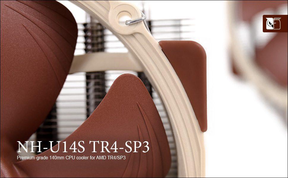 Noctua NH U14S TR4 SP3 CPU Cooler Details 2