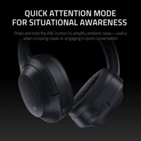 Razer Opus Wireless ANC Headset – Black 5