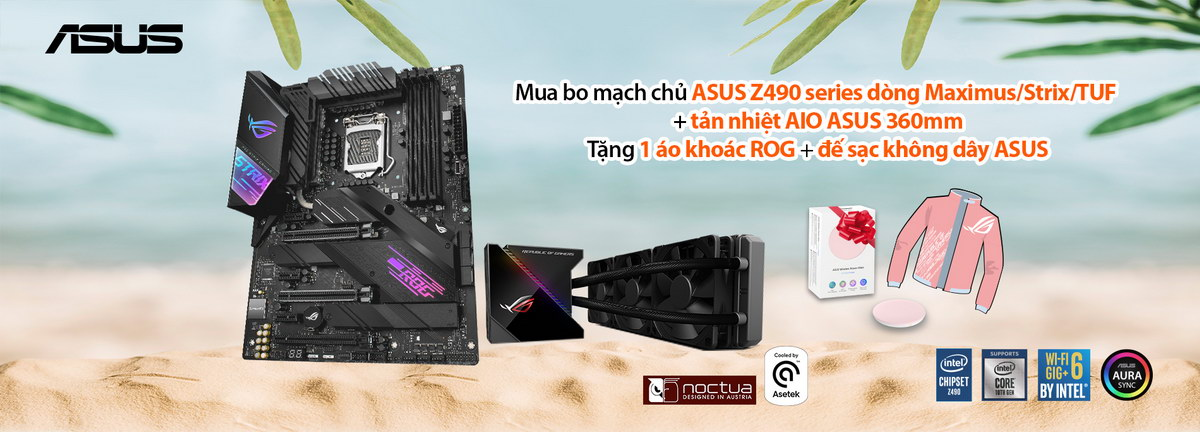 TTD Promotion 2007 ASUSComboXinNhanQuaChat Cooler