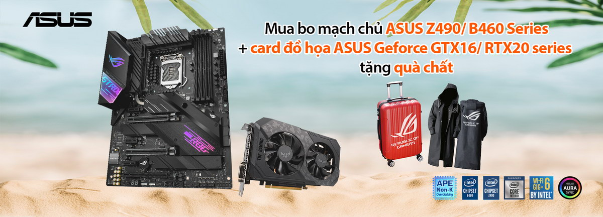 TTD Promotion 2007 ASUSComboXinNhanQuaChat GraphicsCard