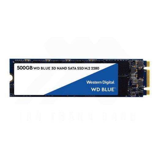 Western Digital Blue 3D NAND SATA 500GB SSD