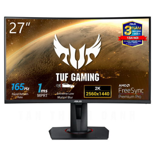 ASUS TUF Gaming VG27WQ Curved Monitor 1