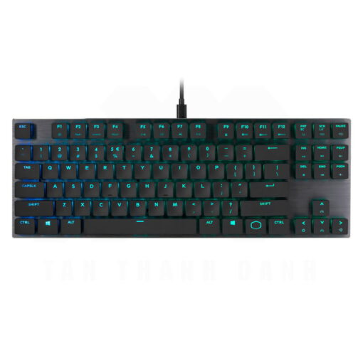 Cooler Master SK630 Keyboard – Gunmetal Black 1