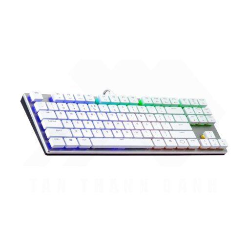 Cooler Master SK630 Keyboard – Silver White 2