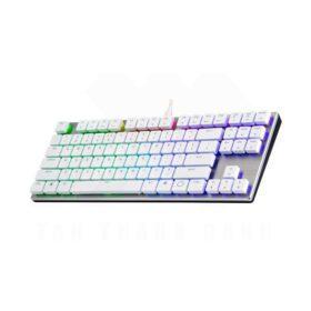 Cooler Master SK630 Keyboard – Silver White 3