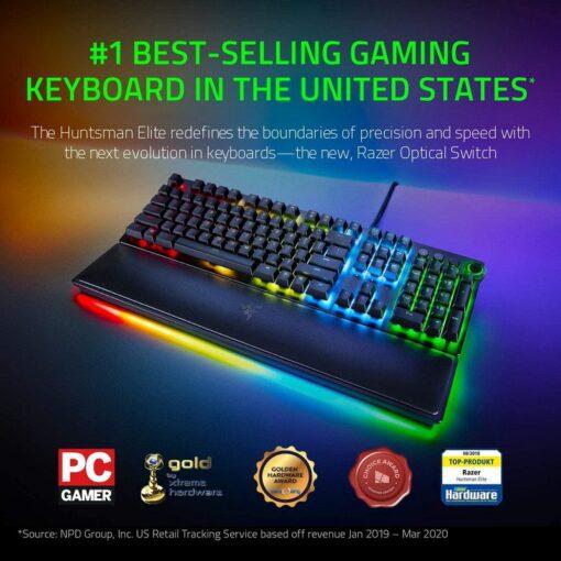 Razer Huntsman Elite Gaming Keyboard – Linear Optical Switch 2