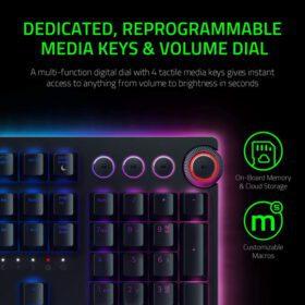 Razer Huntsman Elite Gaming Keyboard – Linear Optical Switch 6
