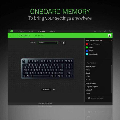 Razer Huntsman Tournament Edition Gaming Keyboard 6