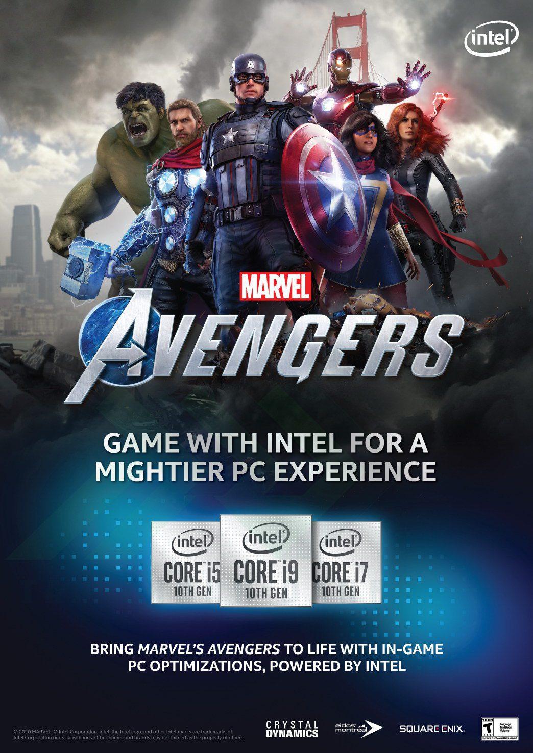 TTD Promotion 20ENT 10thGen Avengers Poster