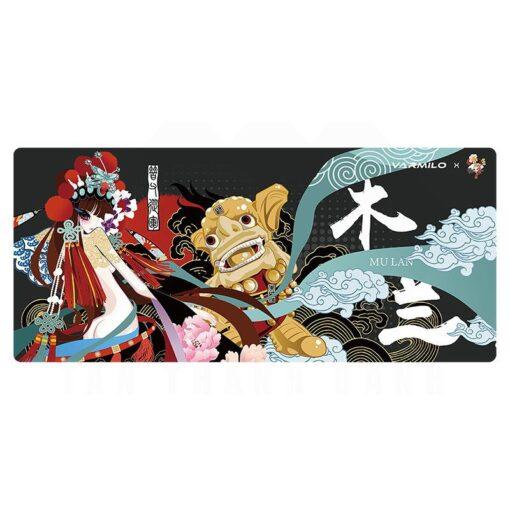 varmilo Beijing Opera Series Mulan Desk Mat 1