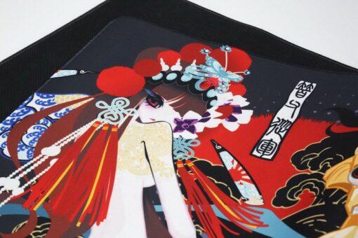 varmilo Beijing Opera Series Mulan Desk Mat 4