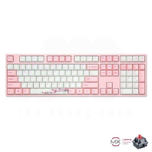 varmilo VA108M Sakura Keyboard – Cherry MX Red