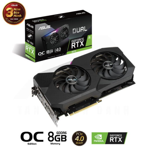 ASUS DUAL Geforce RTX 3070 OC Edition 8G Graphics Card 1