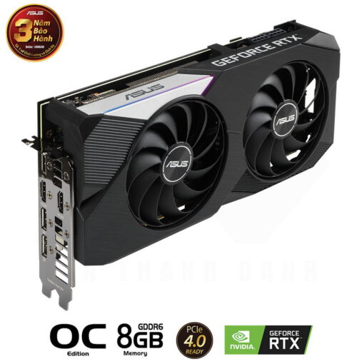 ASUS DUAL Geforce RTX 3070 OC Edition 8G Graphics Card 3