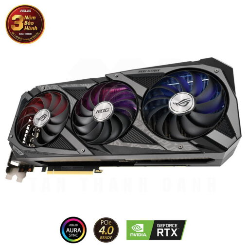 ASUS ROG Strix Geforce RTX 3090 24G Gaming Graphics Card 3