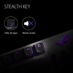 ASUS ROG Strix Scope TKL Gaming Keyboard – Cherry MX Red 3