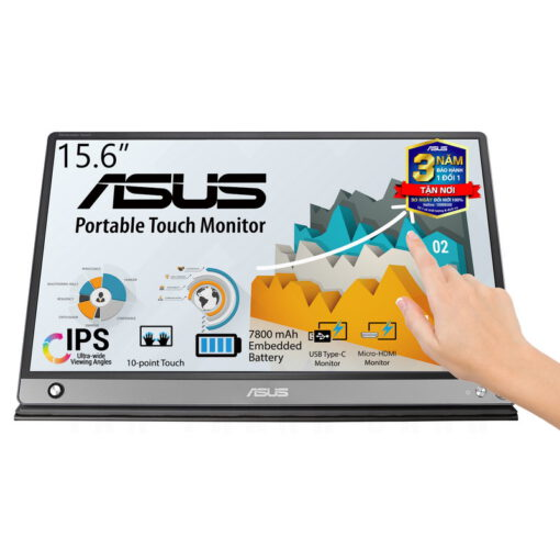 ASUS ZenScreen MB16AMT Portable Touch Monitor 1
