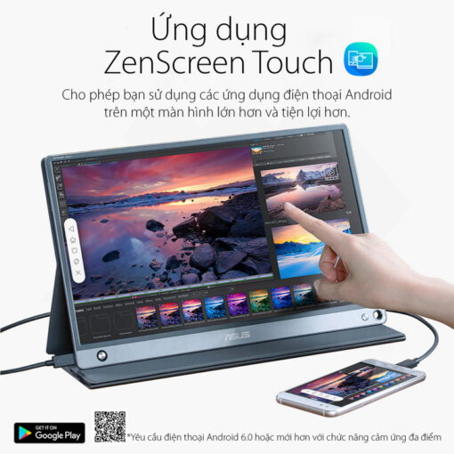 ASUS ZenScreen MB16AMT Portable Touch Monitor 3