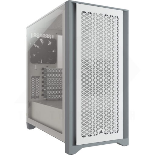 CORSAIR 4000D AIRFLOW Case – White 1