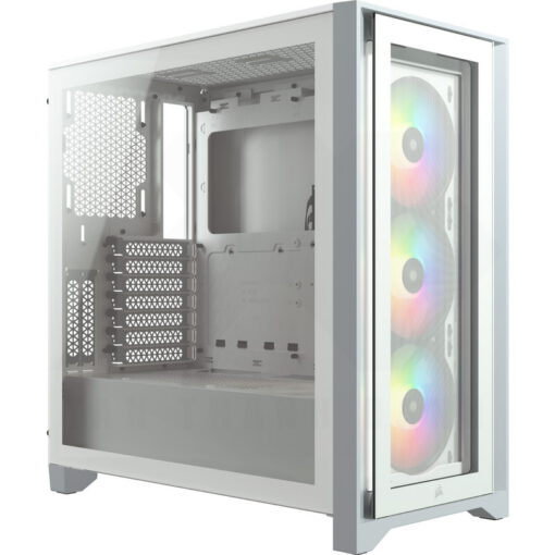 CORSAIR iCUE 4000X RGB Case White 1