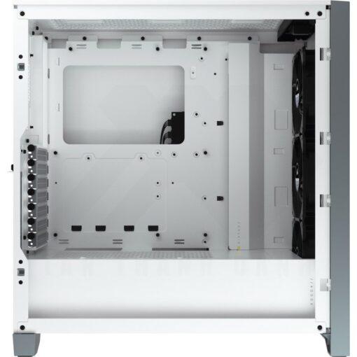 CORSAIR iCUE 4000X RGB Case White 2