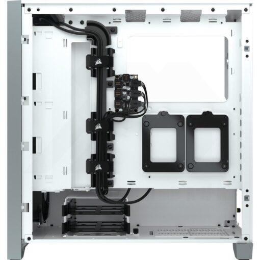 CORSAIR iCUE 4000X RGB Case White 3