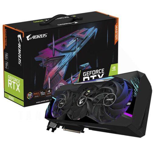 GIGABYTE AORUS Geforce RTX 3080 MASTER 10G Graphics Card 1