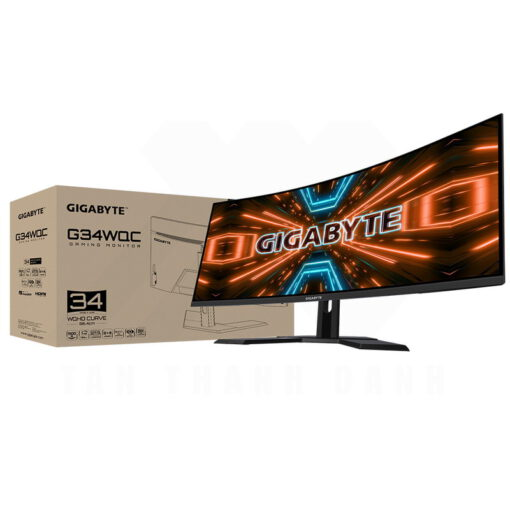 GIGABYTE G34WQC Curved Gaming Monitor 1