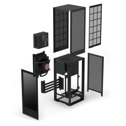 NZXT H1 Case Black 5