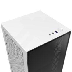 NZXT H1 Case White 2