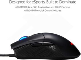ASUS ROG Gladius II Core Gaming Mouse 2