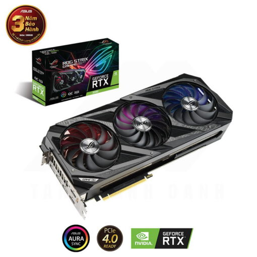 ASUS ROG Strix Geforce RTX 3090 OC Edition 24G Gaming Graphics Card 1