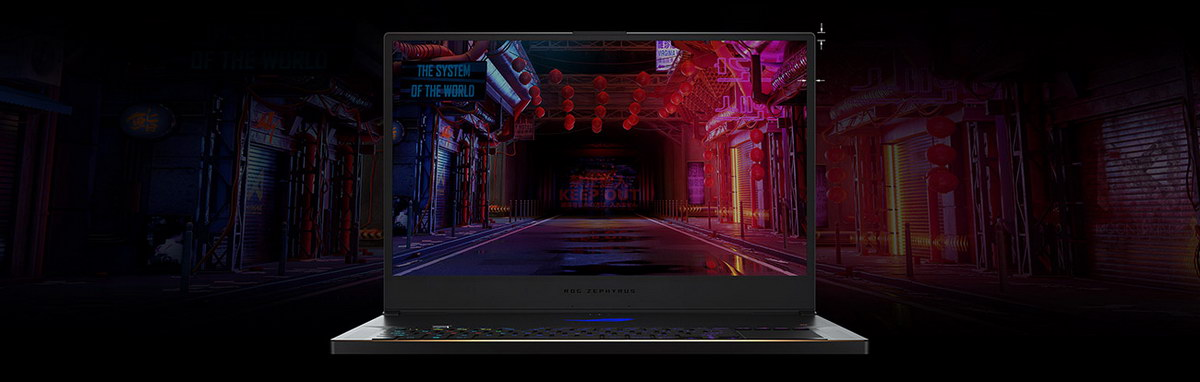 ASUS ROG ZEPHYRUS S17 GAMING LAPTOP Screensize