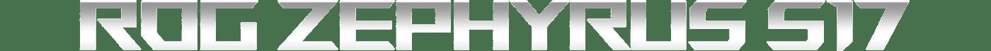 ASUS ROG ZEPHYRUS S17 GAMING LAPTOP Text