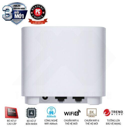 ASUS ZenWiFi AX Mini System XD4 White 9