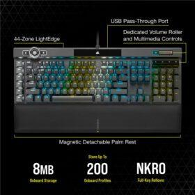CORSAIR K100 RGB Gaming Keyboard 10