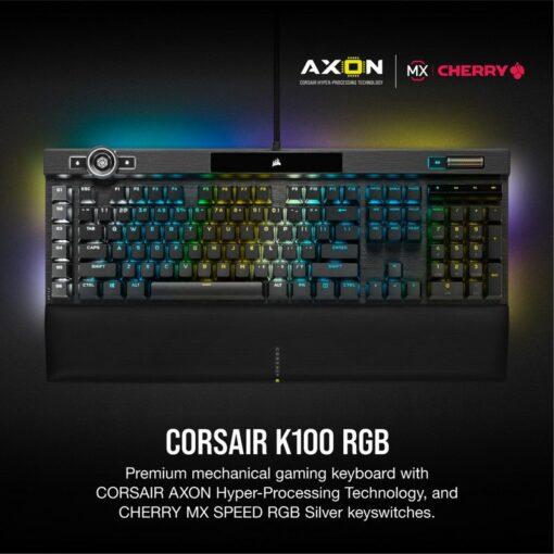CORSAIR K100 RGB Gaming Keyboard 2