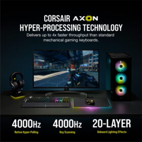 CORSAIR K100 RGB Gaming Keyboard 3