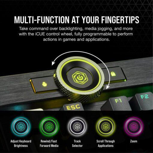 CORSAIR K100 RGB Gaming Keyboard 4