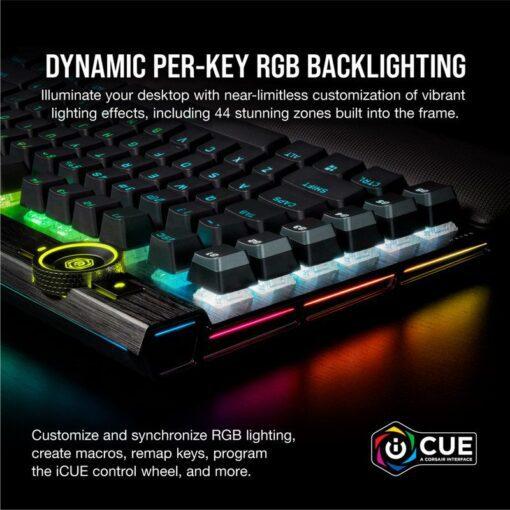 CORSAIR K100 RGB Gaming Keyboard 5