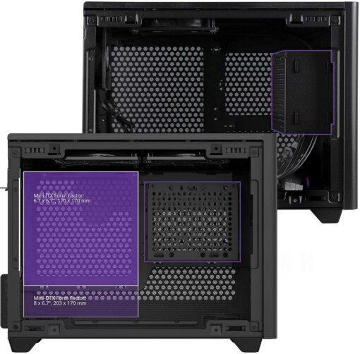 Cooler Master MasterBox NR200P Case Black 13