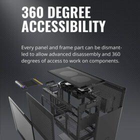 Cooler Master MasterBox NR200P Case Black 3