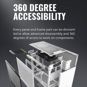 Cooler Master MasterBox NR200P Case White 3