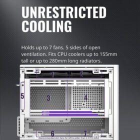 Cooler Master MasterBox NR200P Case White 4