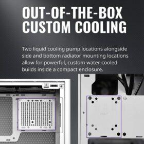 Cooler Master MasterBox NR200P Case White 5
