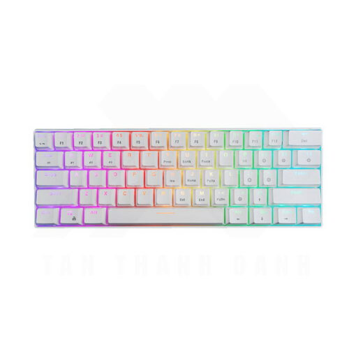 E Dra EK361W 60 Keyboard – White 0