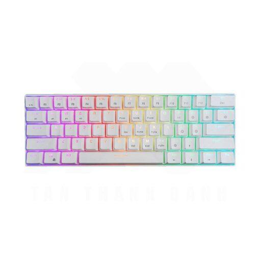 E Dra EK361W 60 Keyboard – White 0